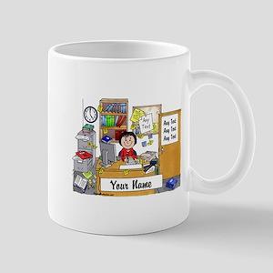 Office - Messy, Female Mugs