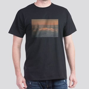 Sky with clouds in blue and pink sunset ev T-Shirt