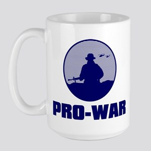 Pro-War Large Mug
