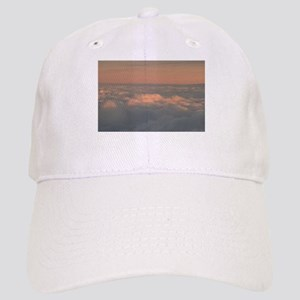 356a49e4e4a27 Sky with clouds in blue and pink sunset evenin Cap