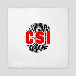 CSI FINGERPRINT Queen Duvet