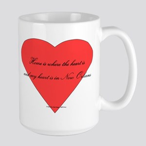 Heart in New Orleans Mugs