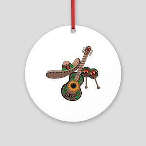 LATIN MUSIC Ornament (Round)