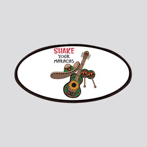 SHAKE YOUR MARACAS Patches