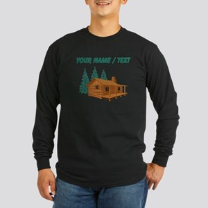 Custom Cabin In The Woods Long Sleeve T-Shirt