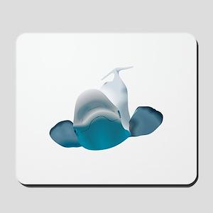 BELUGA WHALE Mousepad