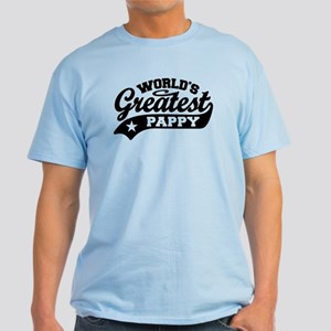 World's Greatest Pappy Light T-Shirt