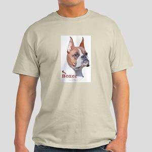 Boxer (Cropped) Ash Grey T-Shirt