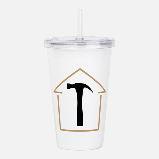 HOUSE AND HAMMER Acrylic Double-wall Tumbler
