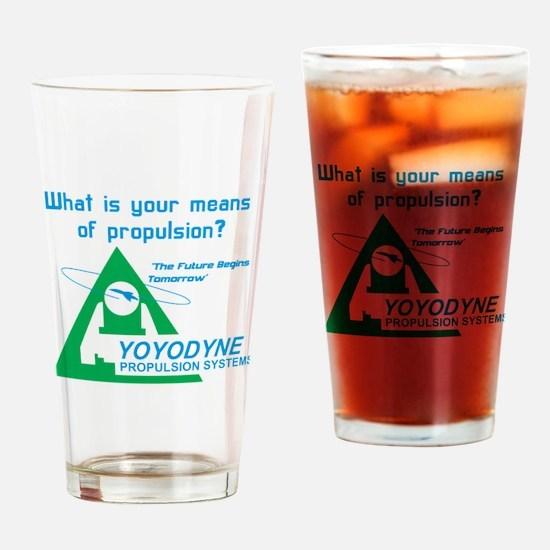 YoYoDyne1 Drinking Glass