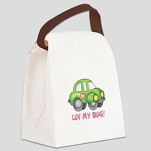 LUV MY BUG Canvas Lunch Bag