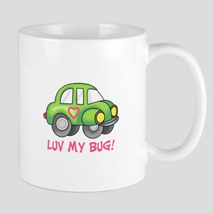 LUV MY BUG Mugs