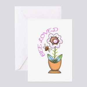 BEE LOVED Greeting Cards