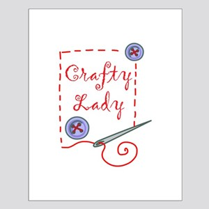 Crafty Lady Posters