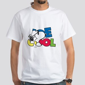 Snoopy Joe Cool White T-Shirt
