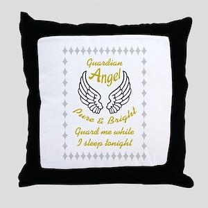 GUARDIAN ANGEL Throw Pillow