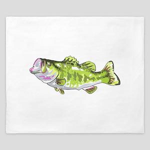 BASS FISH King Duvet