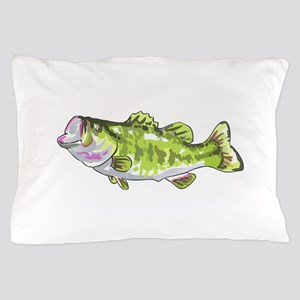 BASS FISH Pillow Case