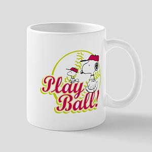 Play Ball Snoopy Mug
