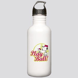 Play Ball Snoopy Stainless Water Bottle 1.0L