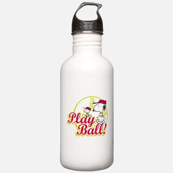 Play Ball Snoopy Water Bottle