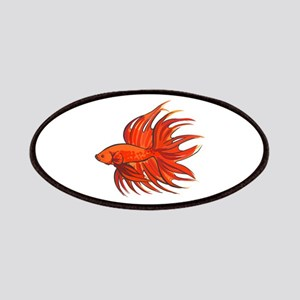 CROWNTAIL BETTA FISH Patches