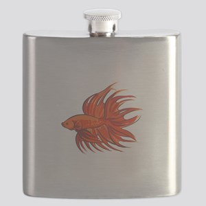 CROWNTAIL BETTA FISH Flask