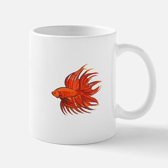 CROWNTAIL BETTA FISH Mugs