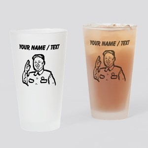 Custom Kim Jong Un Drinking Glass