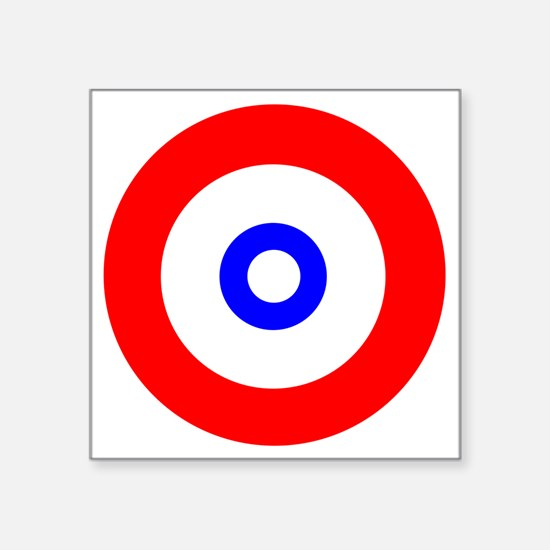 "The spirit of Curling Square Sticker 3"" x 3"""
