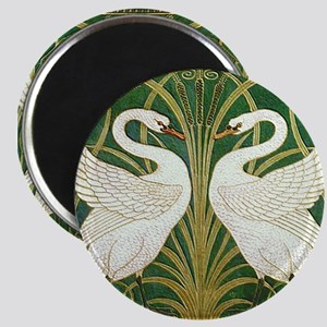 SWANS GREEN Magnet
