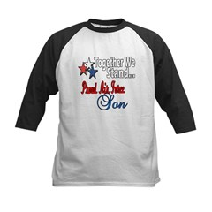 Air Force Son Kids Baseball Jersey