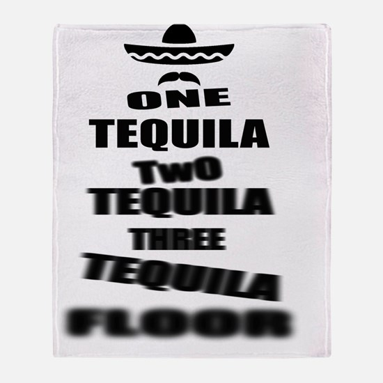 Tequila Party Throw Blanket