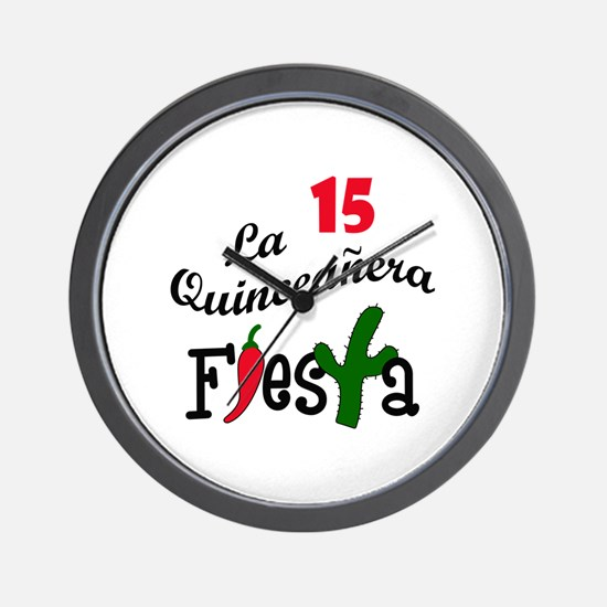 LA QUINCEANERA Wall Clock