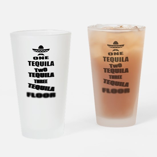 Tequila Party Drinking Glass