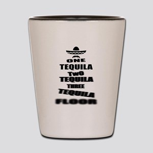 Tequila Party Shot Glass