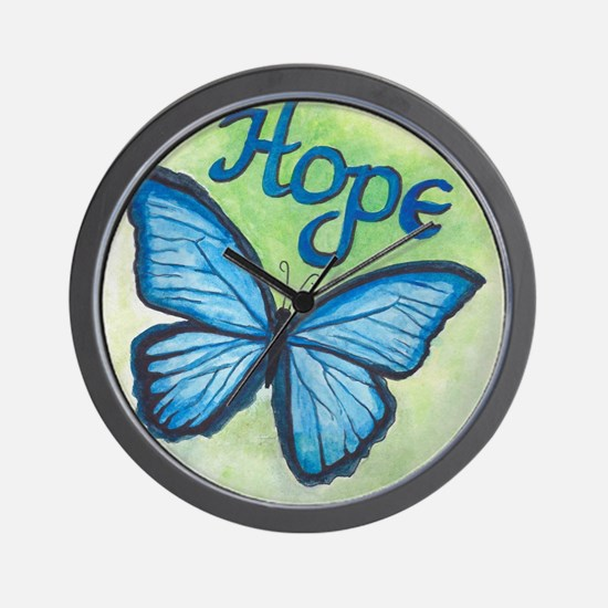 Cute Butterfly Wall Clock