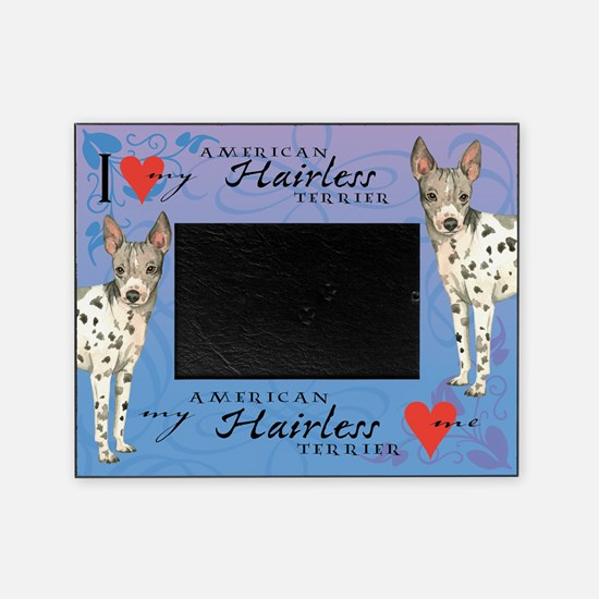American Hairless Terrier Picture Frame