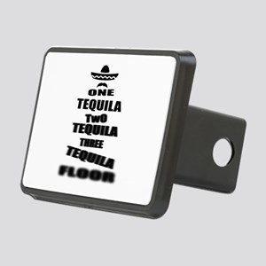 Tequila Party Rectangular Hitch Cover