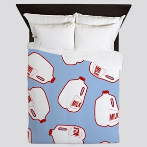 Milk Jugs Pattern Queen Duvet