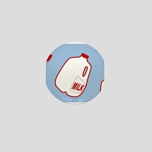 Milk Jugs Pattern Mini Button