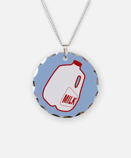 Milk Jugs Pattern Necklace