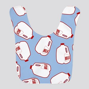 Milk Jugs Pattern Bib