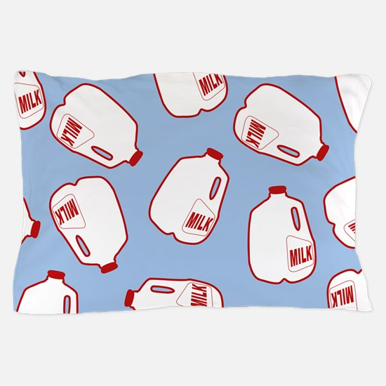 Milk Jugs Pattern Pillow Case