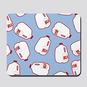 Milk Jugs Pattern Mousepad