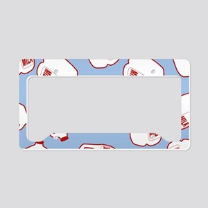 Milk Jugs Pattern License Plate Holder