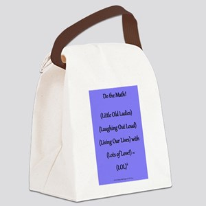 Do the Math for (LOL)4 Canvas Lunch Bag