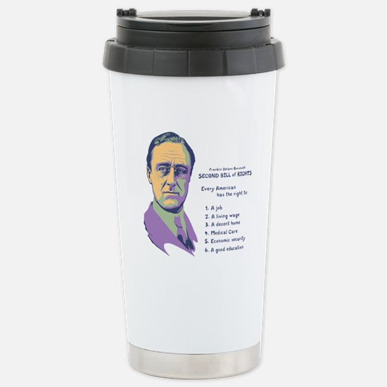 2nd Bill of Rights Stainless Steel Travel Mug