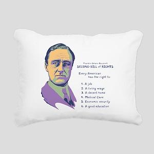 2nd Bill of Rights Rectangular Canvas Pillow