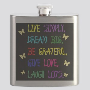 Live Life Flask